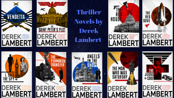 Thriller novels by Derek Lambert(2)