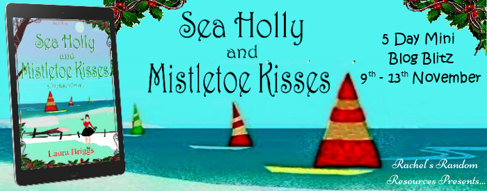 Sea Holly and Mistletoe Kisses
