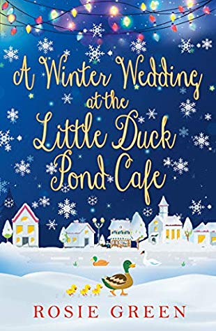 a winter wedding at the little duck pond cafe